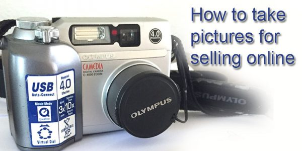 How to take pictures for selling online