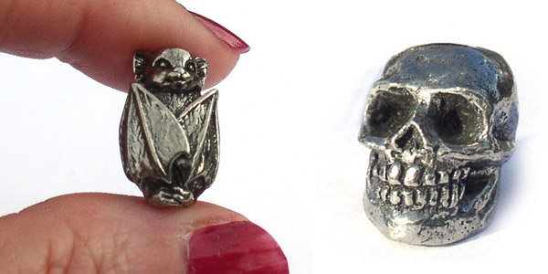 Awesome beads for Halloween ideas – bats, zombies, and gargoyles
