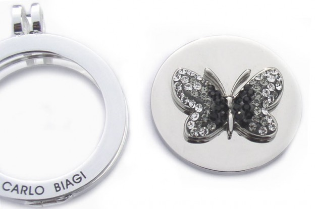 Butterfly Coin is Stunning Addition to Coin Holder Necklaces for Women