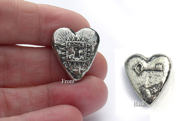Locked Heart for inspirational jewelry