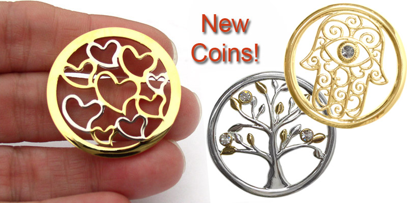 Coin jewelry to add to your wish list!
