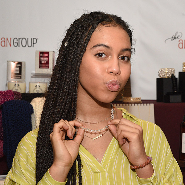 Asia Ray wearing quartz crystal bead necklace by Bead Lovers Korner