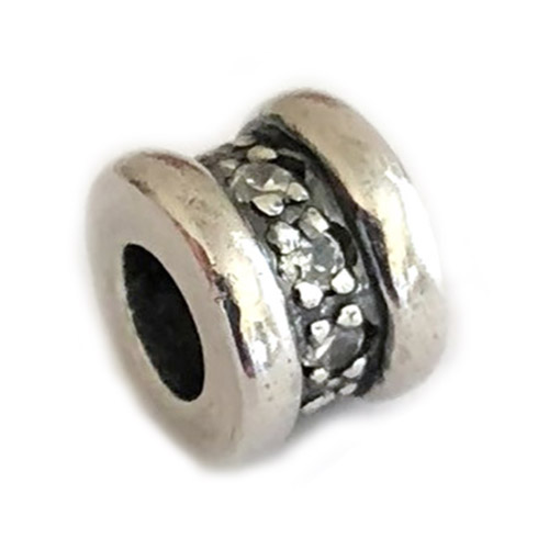 Sterling Silver and Cubic Zirconia Rings Carlo Biagi Bead
