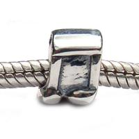 Music Notes Bead Carlo Biagi Sterling Silver